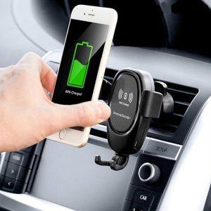 Auto Telefoonhouder-draadloos opladen