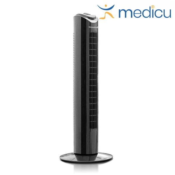 Torenventilator 80 cm 50W Zwart