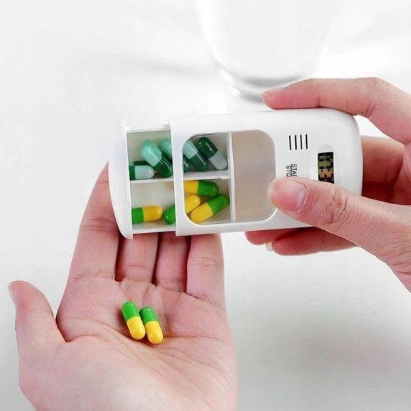 Pillendoosje - Medicijndoosje met alarm