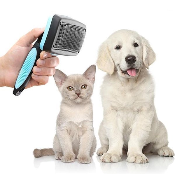 Reinigingsborstel voor honden en katten