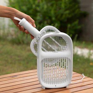 Vliegenmepper-Muggenvanger en Muggenlamp (2-in-1)