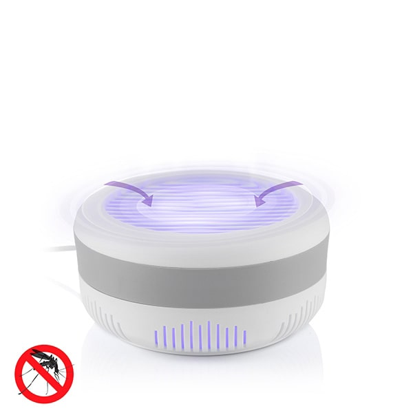 Muggenlamp met UV licht